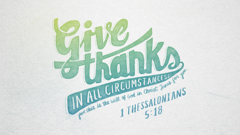 1 Thessalonians 518 [widescreen]