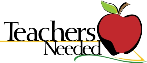 Teachers-needed